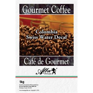 De Luca's Colombia Swiss Water Decaf 1kg