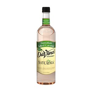 Davinci Natural Hawaiian Salted Caramel Syrup 700ml